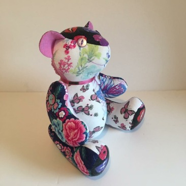 Bereavement Bear from adults clothing